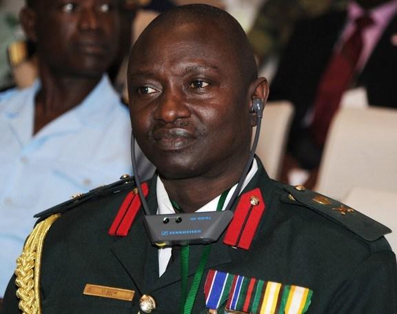 GAMBIE : Le CEMGA Ousmane Badji à la soirée de Viviane Chidid