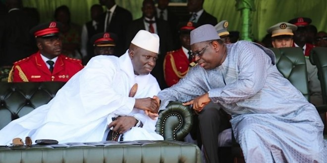 Gambie : Le Président de la République du Sénégal pour une transmission pacifique du pouvoir