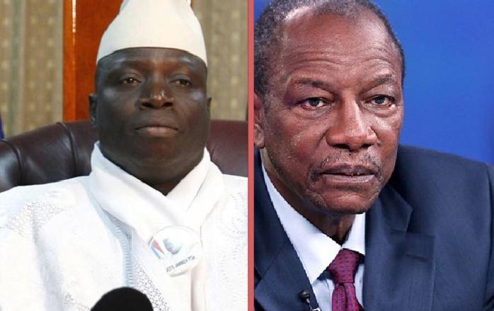 Imbroglio autour de la fuite de Yahya Jammeh en Guinée Conakry
