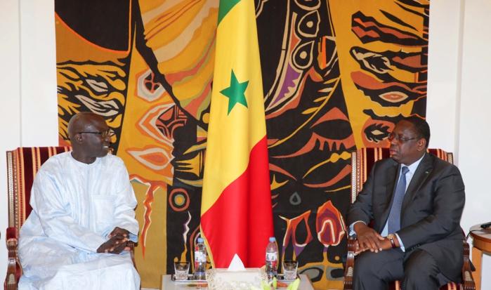 Adama Dieng, Conseiller spécial du Secrétaire général de l'ONU, reçu par Macky Sall