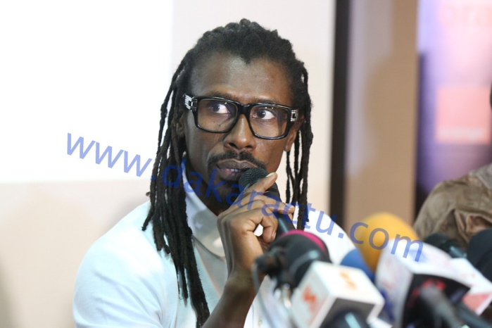 Aliou Cissé : « Comme un capitaine, Macky Sall a motivé les troupes….»