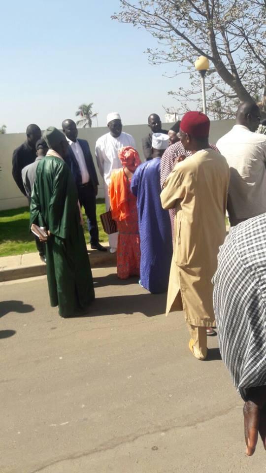 Affaire Bamba Fall : Les politiques ont pris d'assaut le Tribunal de Dakar