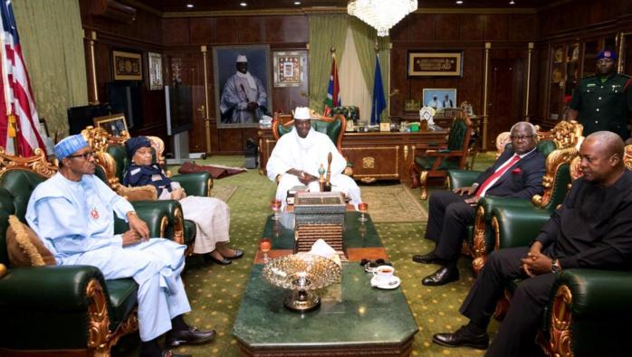 GAMBIE : La CEDEAO reporte sa décision au Lundi 9 janvier