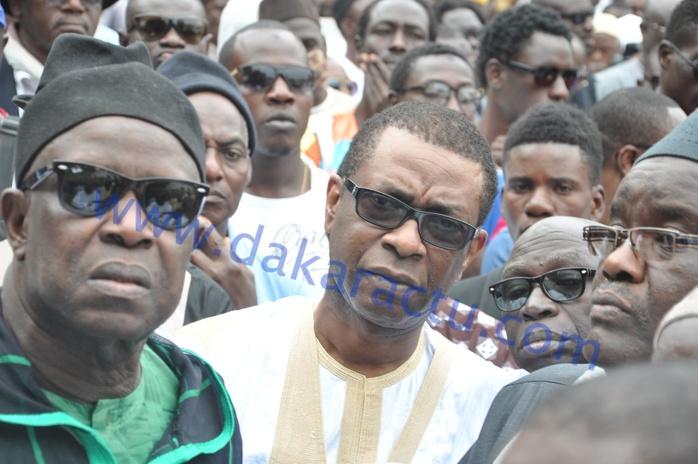 Les images de la levée du corps du défunt chanteur Ablaye Mbaye