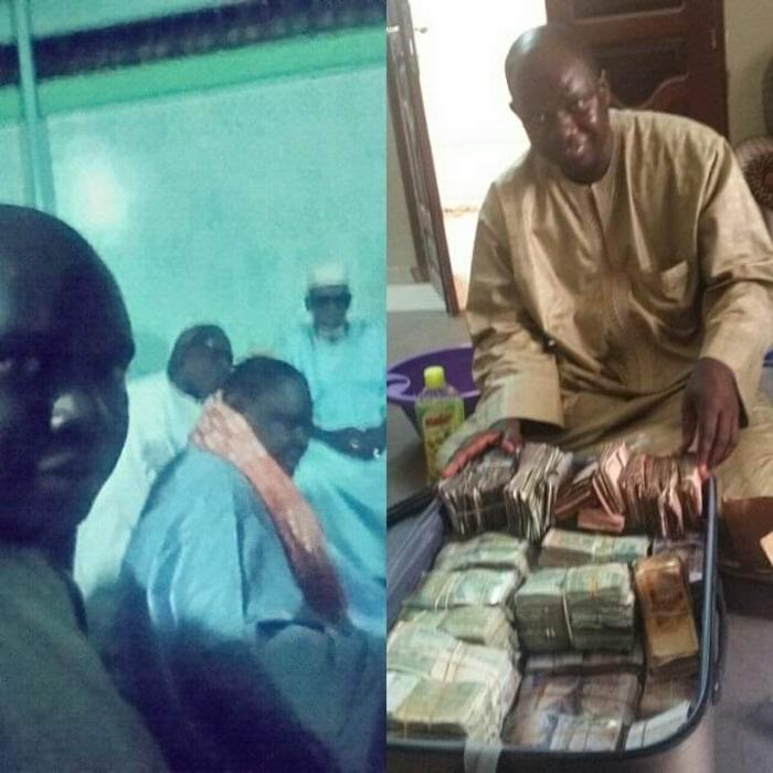 KEUR NGANDA - Darou Salam donne un aadiya de 140 millions au Khalife et une boîte d'allumettes