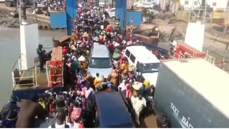 EXODE : 853 ressortissants de la Gambie sont entrés au Sénégal en 48 heures