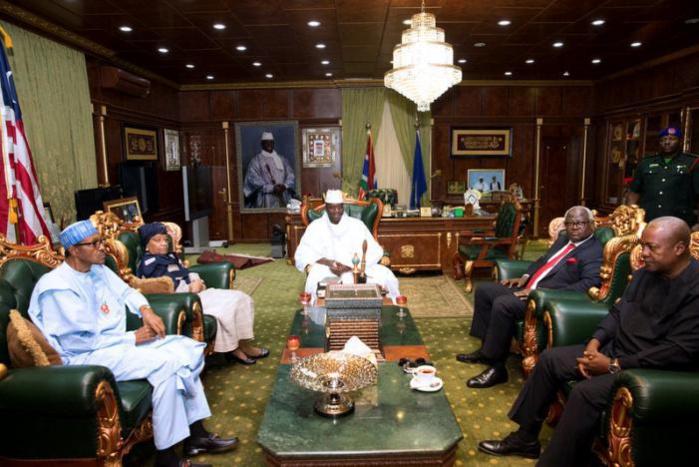GAMBIE : La réunion entre Yaya Jammeh et les chefs d'Etat de la CEDEAO reportés à vendredi