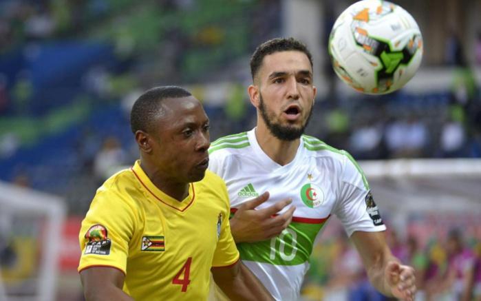 CAN 2017 : L'Algérie menée au score par Zimbabwe à la mi-temps