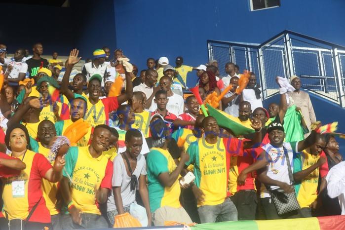 CAN 2017 : les images du match Sénégal contre Tunisie
