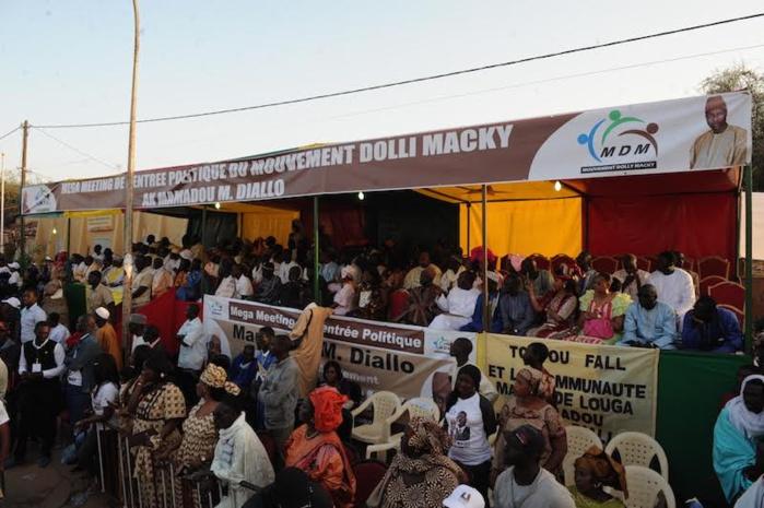 Images du meeting de rentrée politique de Mamadou Mamour Diallo