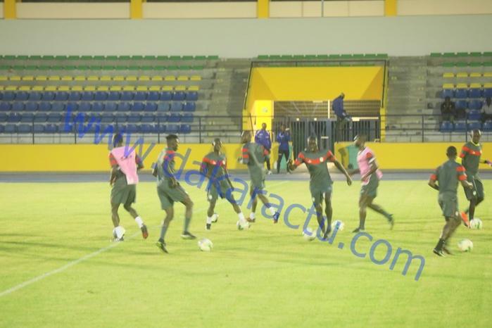 Lendemain de match : Les remplaçants sénégalais à l'entraînement, les titulaires au repos