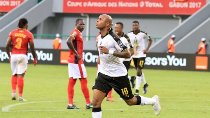 Le Ghana a battu l'Ouganda 1-0 au premier tour de la CAN 2017