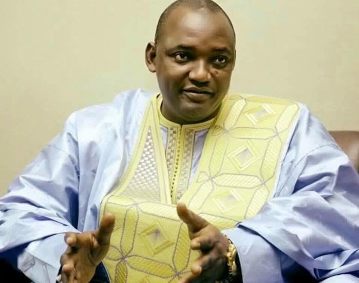 Adama Barrow sera officiellement investi demain à 16 heures à Banjul