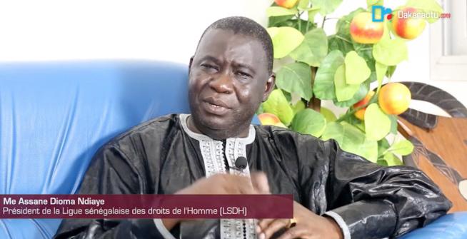 Me ASSANE DIOMA NDIAYE, PRÉSIDENT DE LA LIGUE SÉNÉGALAISE DES DROITS HUMAINS (LSDH) : « Si cette investiture ne se fait pas à date échue... ce serait une victoire de Jammeh »