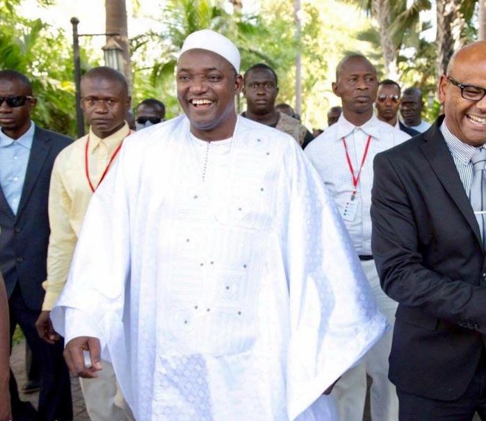 L'investistiture de Adama Barrow sera présidée par le président de la Commission de la CEDEAO