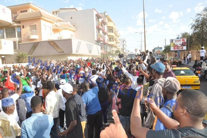 Les images de l'investiture à Dakar du nouveau président élu de la Gambie Adama Barrow