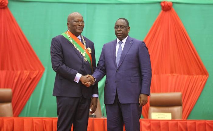 OPÉRATION DE LA CEDEAO EN GAMBIE : Roch Kaboré du Burkina félicite Macky Sall