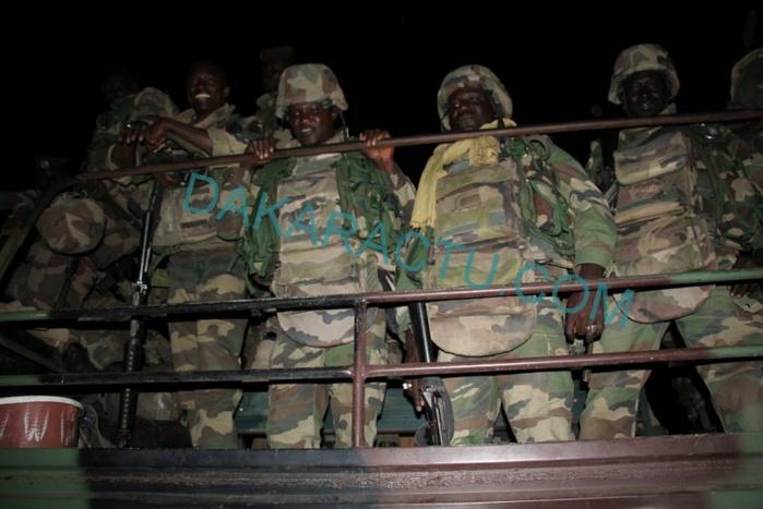 GAMBIE : L'accès au palais présidentiel refusé aux soldats sénégalais de la Cedeao ...(Photos)