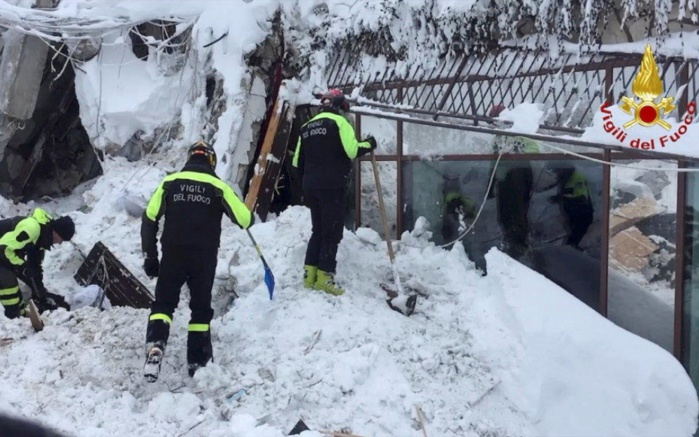 AVALANCHE EN ITALIE : Un ressortissant sénégalais du nom de Dame Faye décédé dans le drame de l'hôtel Rigopiano
