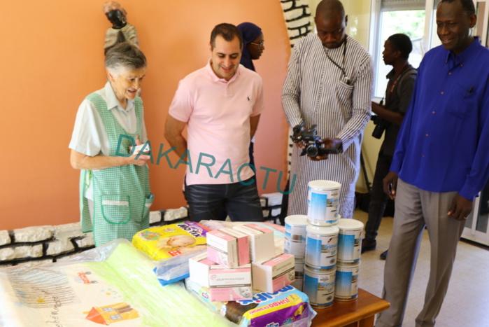 Pouponnière de la Médina : Aigle Azur distribue des couches, biberons, médicaments et lait aux enfants