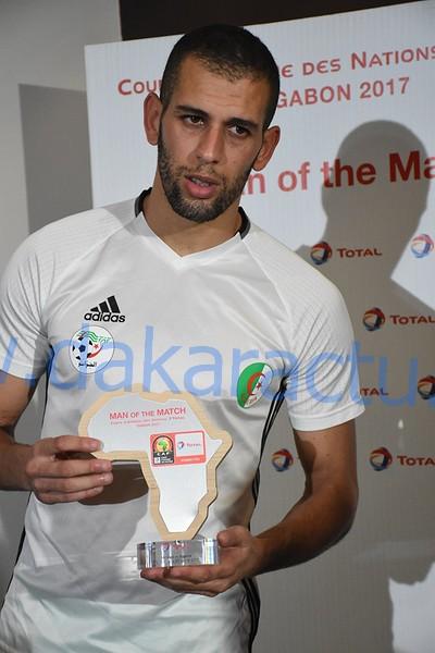 Islam Slamini, homme du match : « C'est une CAN ratée… »