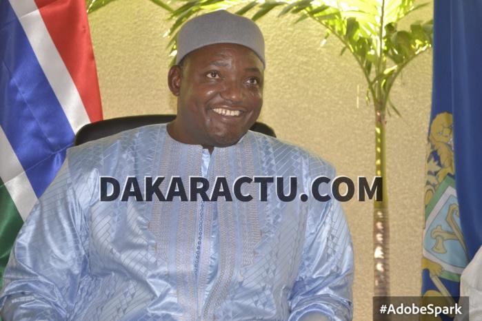 28ème SOMMET DE L'UA : Adama Barrow ne sera pas à Addis-Abeba