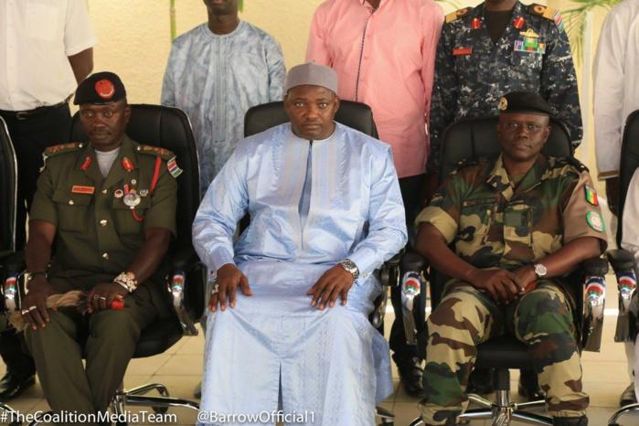 Sort d'Ousman Badji et de la NIA : Les assurances d'Adama Barrow