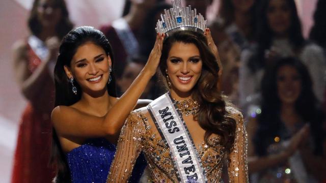 La Française Iris Mittenaere élue Miss Univers