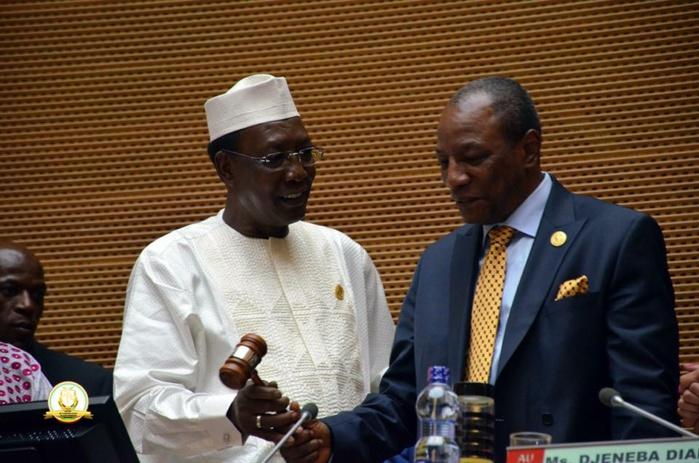Union Africaine : Alpha Condé, le chef de l'Etat guinéen, prend la tête de la présidence tournante de l'organisation