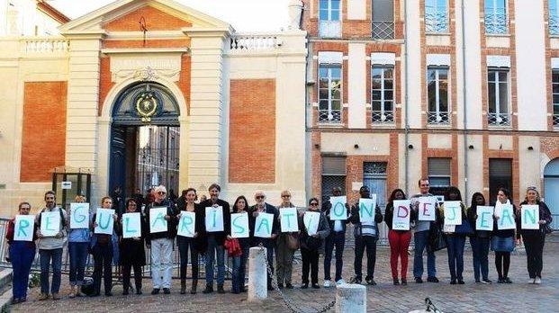 FRANCE : Le collectif d'associations et d'amis de Jean Manga a organisé un troisième rassemblement