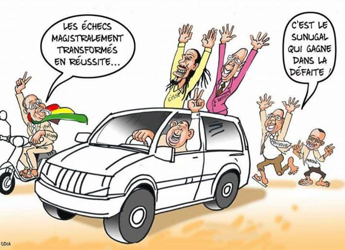 Le Sénégal qui gagne dans la défaite.....par Odia (La Tribune)