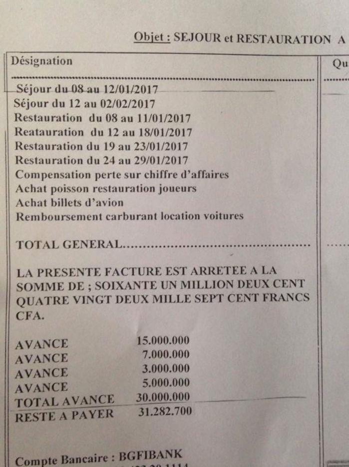 H bergement de la d l gation minist rielle bongoville les 31 millions qui divisent le dage - Grille des salaires au senegal ...