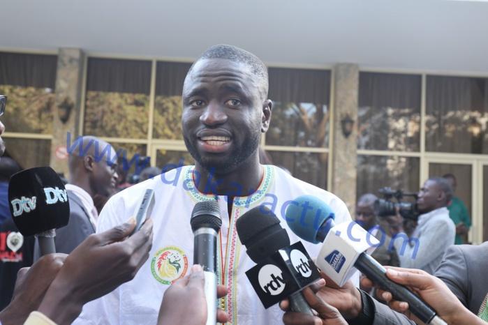Cheikhou Kouyaté Capitaine des Lions : « On continuera le travail »