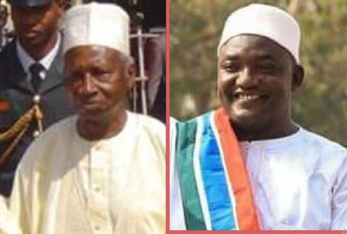 Visite historique du premier président de la Gambie à Adama Barrow