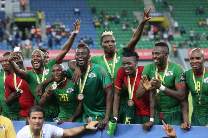 LE BURKINA FASO SUR LE PODIUM DE LA CAN 2017