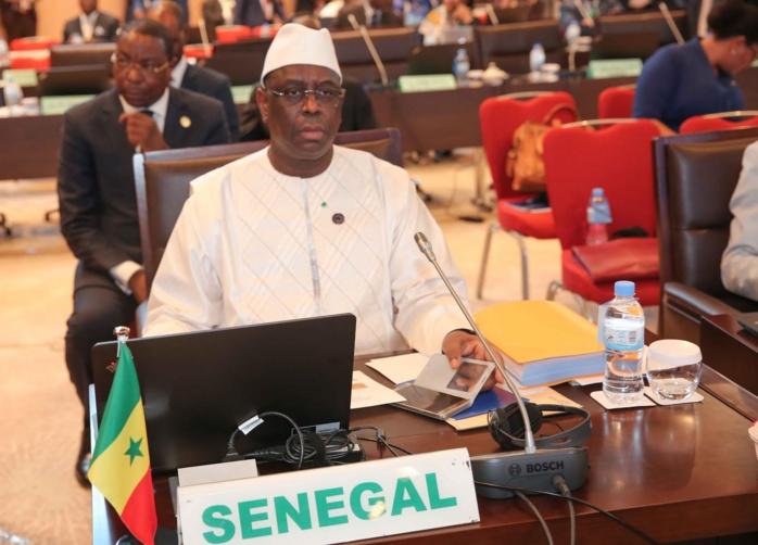 """Election de Moussa Faki : Le Sénégal ne garde aucun """"sentiment amer"""" envers la CEDEAO (Macky Sall)"""