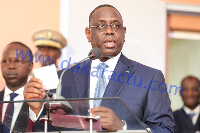 """Restauration de la démocratie en Gambie : Macky Sall exprime """"toute sa fierté"""" à l'armée nationale"""
