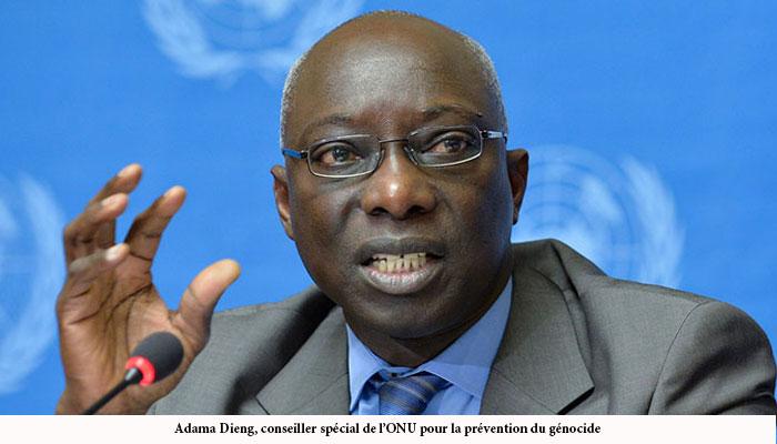 """Adama Dieng met en garde contre le risque de """"vide juridique"""" lié aux retraits de la CPI"""