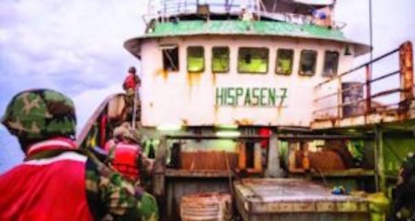 AFFAIRE DU NAVIRE SÉNÉGALAIS ARRAISONNÉ AU LIBÉRIA : Interpol ''fouille'' l'Hispasen 7