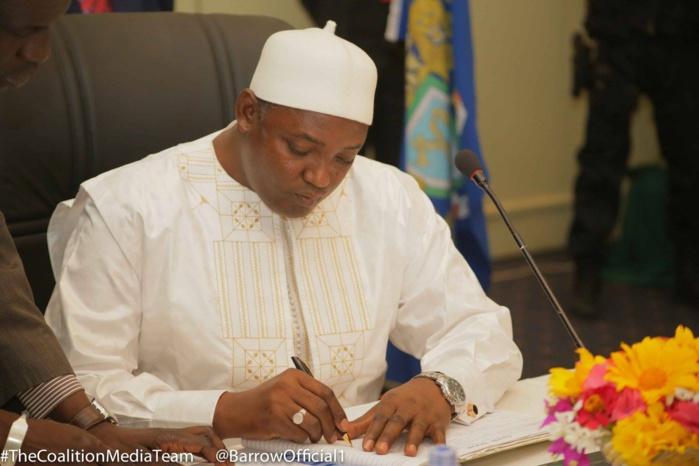 GAMBIE : Adama Barrow vire le directeur de la télévision nationale GRTS