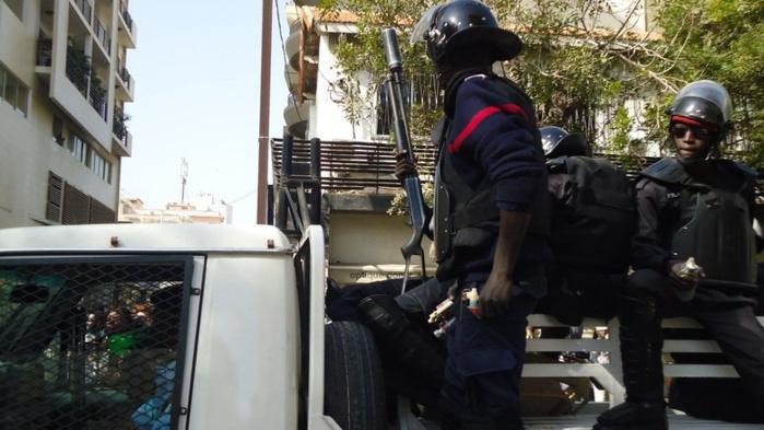Opération de sécurisation aux Parcelles hier :  Saisie de 3,9 Kg de chanvre indien