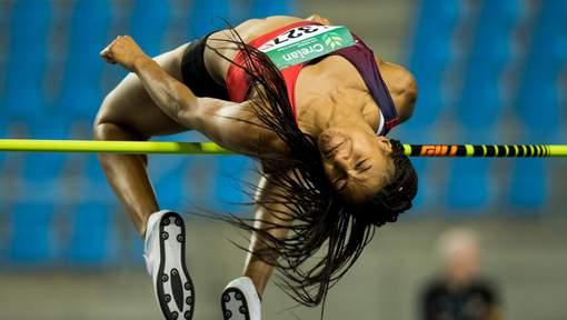 ATHLÉTISME : Nafi Thiam remporte également le titre à la hauteur