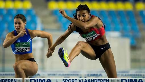 ATHLÉTISME : Nouveau record pour Nafi Thiam, championne de Belgique du 60m haies