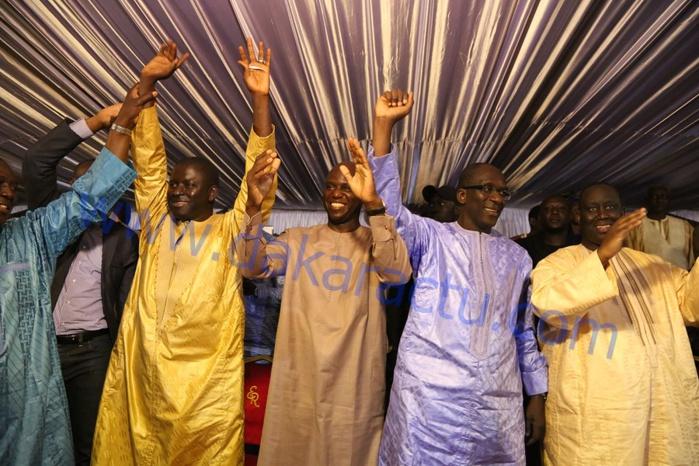 Les images de la célébration du premier anniverssaire du mouvement Agir avec Macky pour le développement de Mbour ( AM DEM Ca kanam)  à Mbour