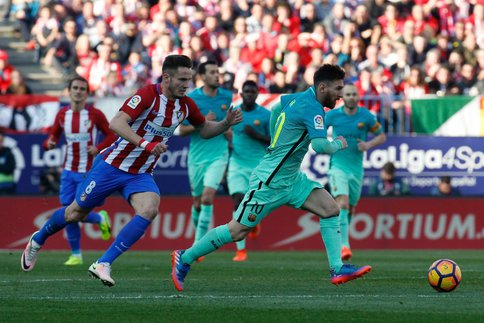 Liga : Messi donne la victoire au Barça contre l'Atletico