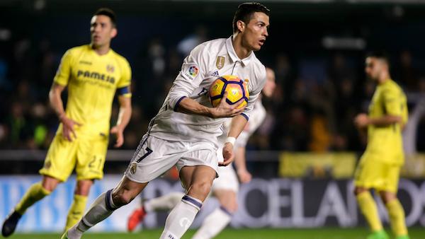LIGA : Le Real arrache la victoire à Villarreal 3-2
