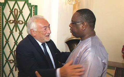 AUDIENCE AU PALAIS : Dominique Strauss-Kahn sollicite un contrat auprès de Macky Sall