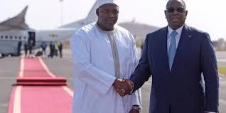 Macky Sall : « Le Président Barrow va accompagner le Sénégal dans la recherche de la paix en Casamance »