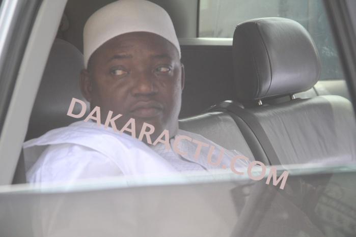 Les images de l'arrivée de Barrow à Touba-Mosquée
