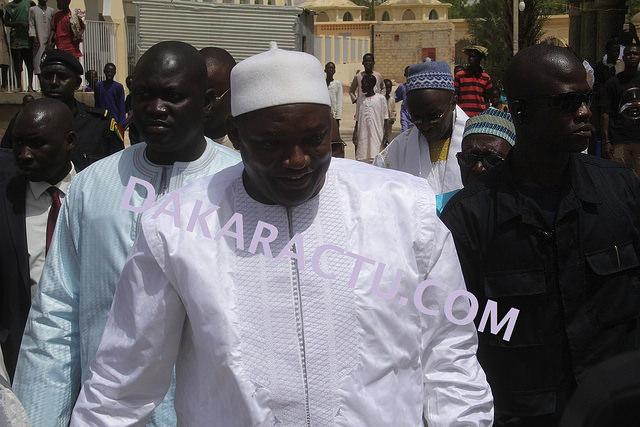 Louga : Adama Barrow remercie Thierno Bachir Tall pour ses prières